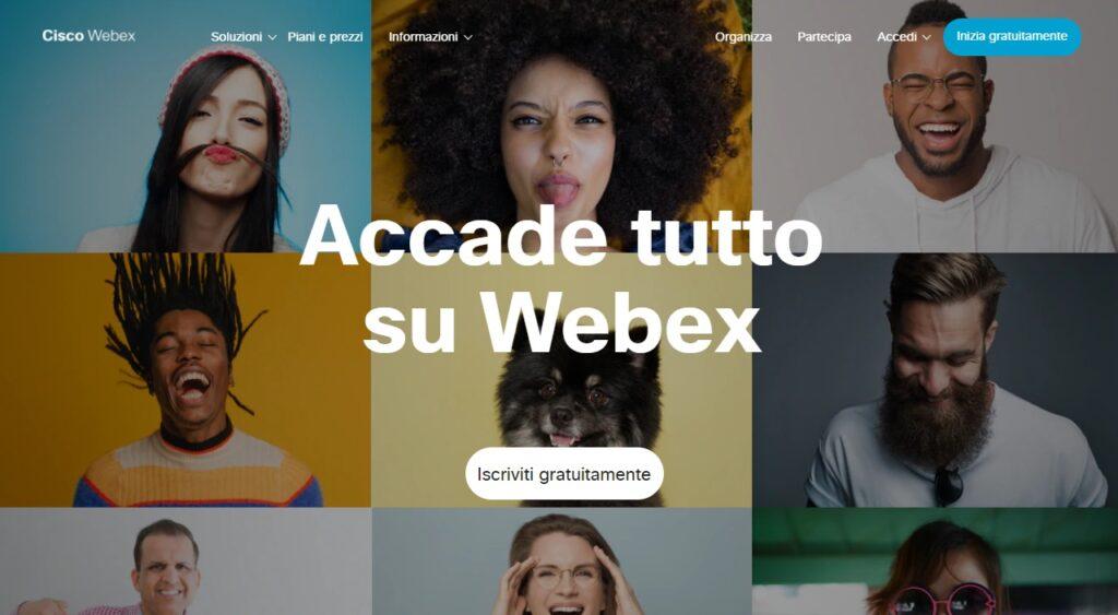Piattaforme Webinar Gratuite Webex Cisco