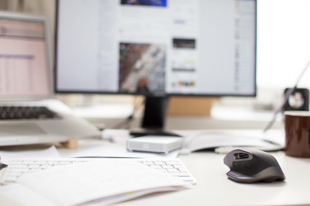 Gestione social network scrivania